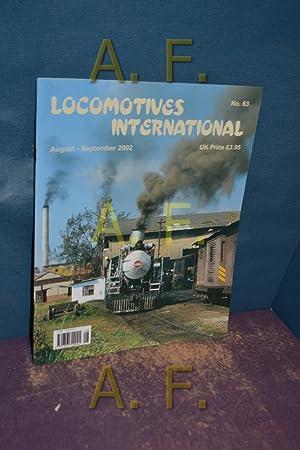 Locomotives International, August - September 2002, No.: Wardale, David und