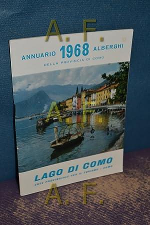 Annuario 1968 Alberghi Della Provincia di Como