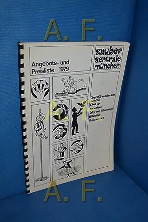 Angebots- und Preisliste, 1979 / Zauber Zentrale: Zauber-Zentrale, München, [Herausgeber]: