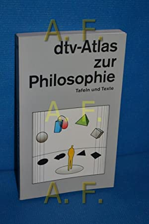Dtv-Atlas zur Philosophie : Tafeln und Texte.: Kunzmann, Peter, Franz-Peter