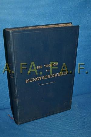 Die Technik der Kunststrickerei: Obermayer-Wallner., Aurelie [herausgegeben]: