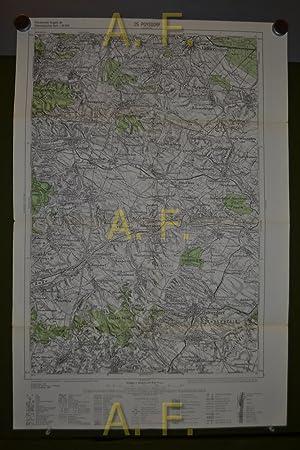 25 Poysdorf, Provisorische Ausgabe der Österreichischen Karte,: N. N.: