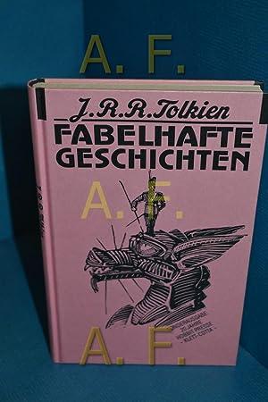 """Fabelhafte Geschichten J. R. R. Tolkien. [""""Leaf: Tolkien, J. R."""