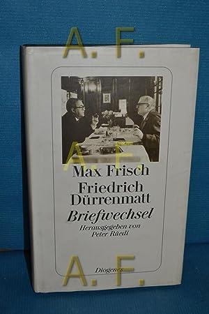 Briefwechsel Max Frisch , Friedrich Dürrenmatt. Mit: Frisch, Max, Friedrich