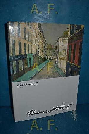 Maurice Utrillo V. [Aus d. Franz. von: Warnod, Jeanine und