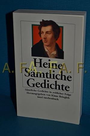 Sãmtliche Gedichte In Zeitlicher Folge By Heine Heinrich