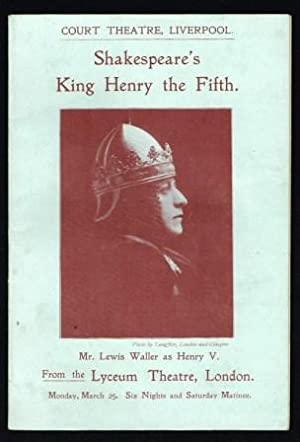 Shakespeare's Henry V; An Account and an Estimate