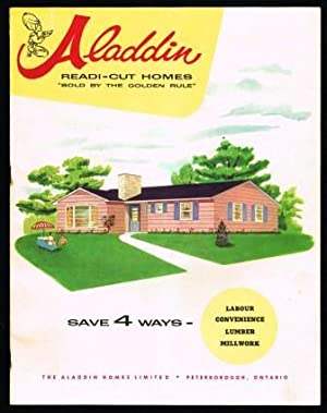 Aladdin Ready-Cut Homes; Prefabricated Homes Catalogue 1959