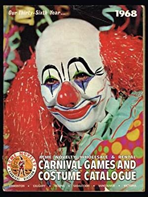 Carnival Games and Costume Catalogue; Acme Novelty: ACME NOVELTY- CARNIVAL