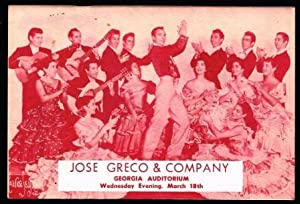 Jose Greco and His Spanish Ballet, with: FAMOUS ARTISTS LIMITED