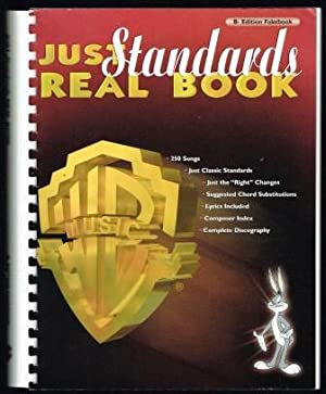 Just Standards Real Book; Bb Edition Fakebook