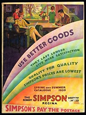 Simpson Spring and Summer Catalogue 1930