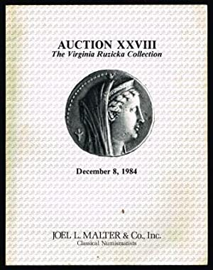 Auction XXVIII: The Virginia Ruzicka Collection: MALTER, Joel L.