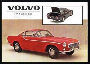 Volvo P 1800: 1962 Auto Sales Literature: VOLVO