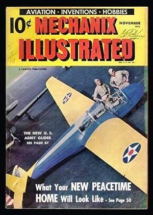 Mechanix Illustrated: November, 1942: CUEVA, Roland; WILLIAMS,