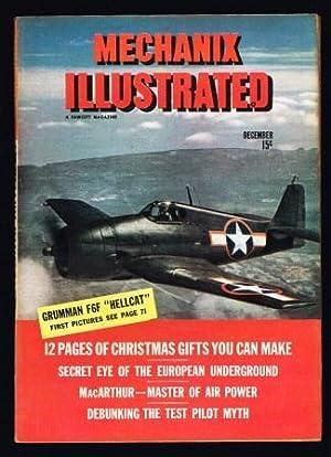 Mechanix Illustrated: December, 1943: CUEVA, Roland; WILLIAMS,