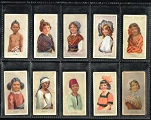 Children of All Nations: Set of 60 Tobacco Cards, 1924