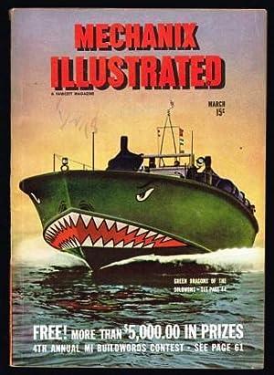 Mechanix Illustrated: March, 1944: CUEVA, Roland; WILLIAMS,