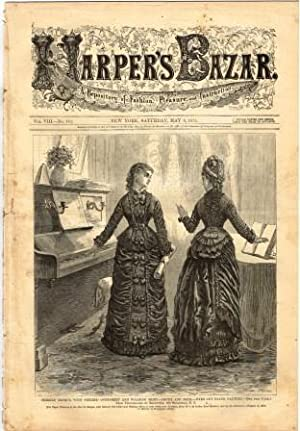 Harper's Bazaar: A Repository of Fashion, Pleasure, and Instruction: Saturday, May 8, 1875