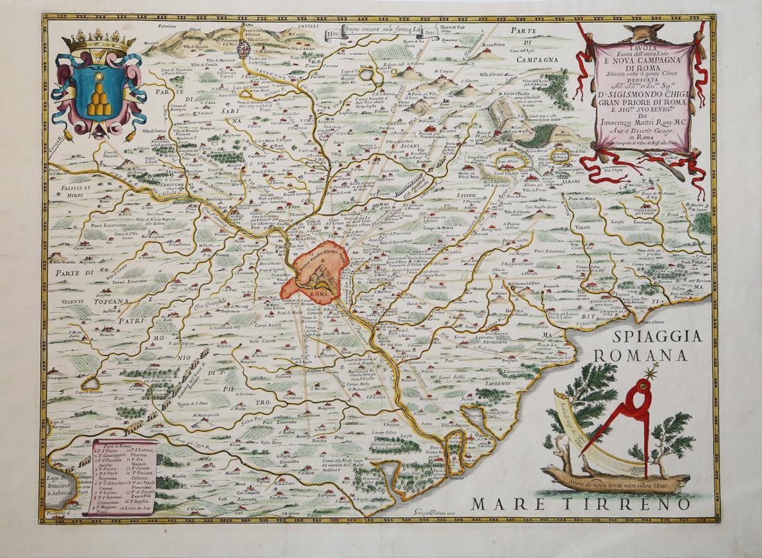 Vialibri rare books from 1666 page 2 roma 1666 carta geografica stampata a roma da giovanni giacomo de rossi e successivamente inclusa nel mercurio geografico thecheapjerseys Choice Image
