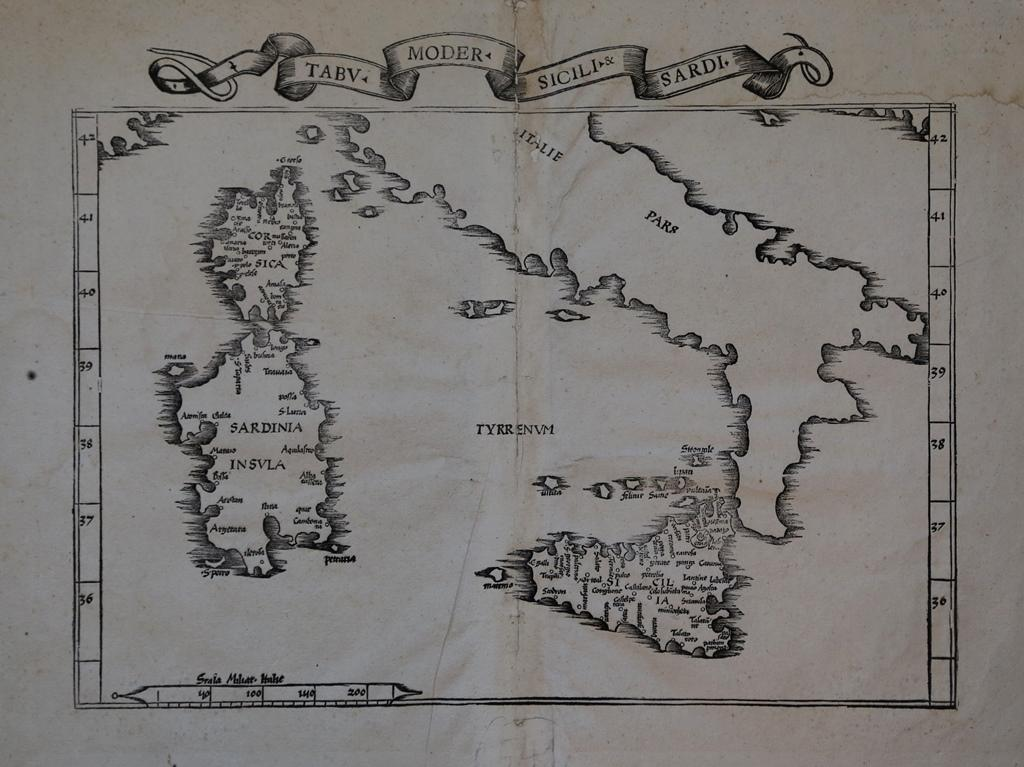Vialibri rare books from 1535 page 1 lione 1535 carta geografica della isole per la prima volta stampata da laurent fries nel 1522 la carta riduzione di quella edita dal waldseemuller thecheapjerseys Images