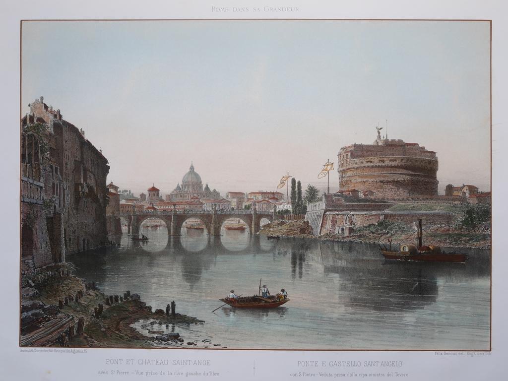 Beautiful Litografia Antico Castello Quadri