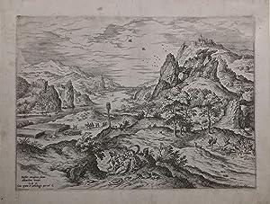 Venere ed Adone: Hieronimus COCK