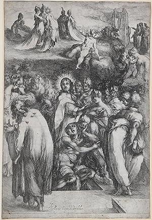 La resurrezione di Lazzaro: Jacques de BELLANGE