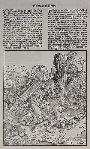 La creazione di Eva: Albrecht DURER