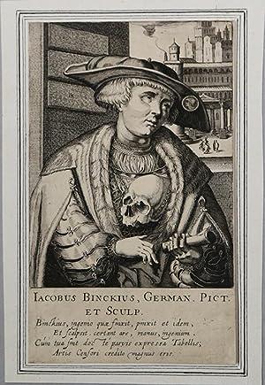 Iacob Binck: Simon Frisius (de Vries)