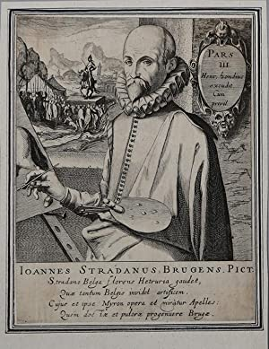 Johannes Stradanus: Simon Frisius (de Vries)