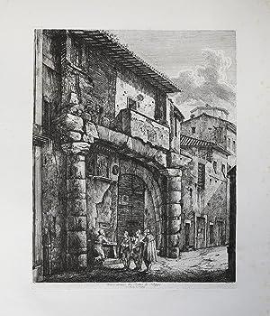 Unici avanzi dei Portici di Filippo: Luigi ROSSINI