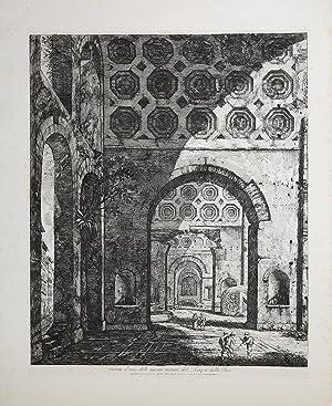 Veduta d'una delle navate minori,del Tempio della: Luigi ROSSINI