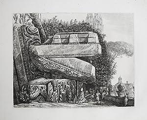 Veduta dei grandiosissimi avanzi del Tempio di: Luigi ROSSINI