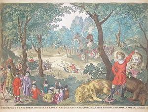 Paesaggio con Davide e Golia: Nicolas VISSCHER I