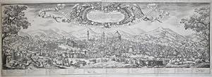 Veduta della città di Firenze dal muricciolo: Valerio SPADA