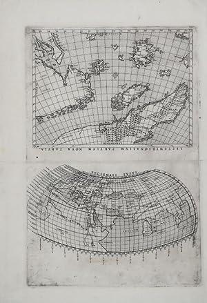 Septentrionalium Partium Nova Tabula & Ptolemaei Typus: Girolamo RUSCELLI