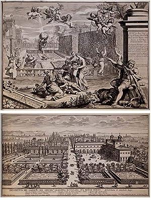 Li Giardini di Roma con Priv. del'S.: Giovanni Battista FALDA