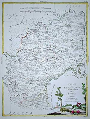 Li Governi di Linguadoca, Di Foix e di Rossiglione con il Rouergue di nuova proiezione: Antonio ...