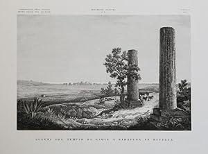 Avanzi del Tempio di Giove a Siracusa in Sicilia: Attilio ZUCCAGNI ORLANDINI