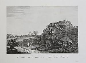 La tomba di Archimede a Siracusa in Sicilia: Attilio ZUCCAGNI ORLANDINI