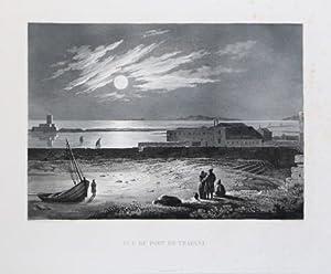Vue du Port de Trapani: Achille Etienne GIGAULT de la Salle