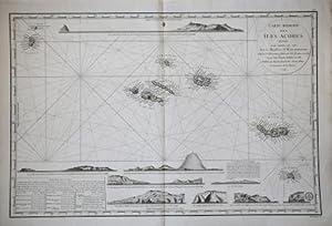 Carte réduite des Ìles Açores: Depot de la Marine editore