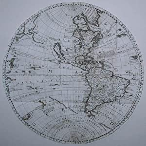 (Planisfero del Nuovo Mondo descritto dal P. Coronelli, Cosmografo Publico): Vincenzo Maria ...