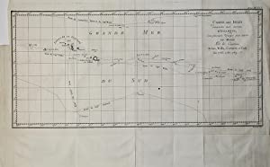 Carte des Isles D'Otahiti: James COOK