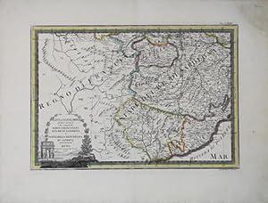 L'Alta Lombardia - Terzo foglio che comprende: Giovanni Maria CASSINI
