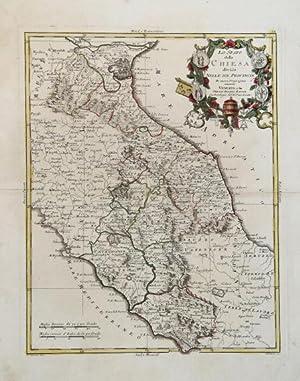 Lo Stato della Chiesa diviso nelle sue Provincie di nuova Projezione: Antonio ZATTA