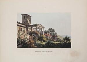 Temple of Hercules at Cori: James John MERIGOT