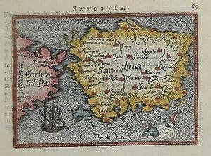 Sardinia: Abraham ORTELIUS
