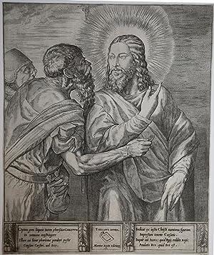 Il Cristo della Moneta o Il Tributo della Moneta: Martino ROTA